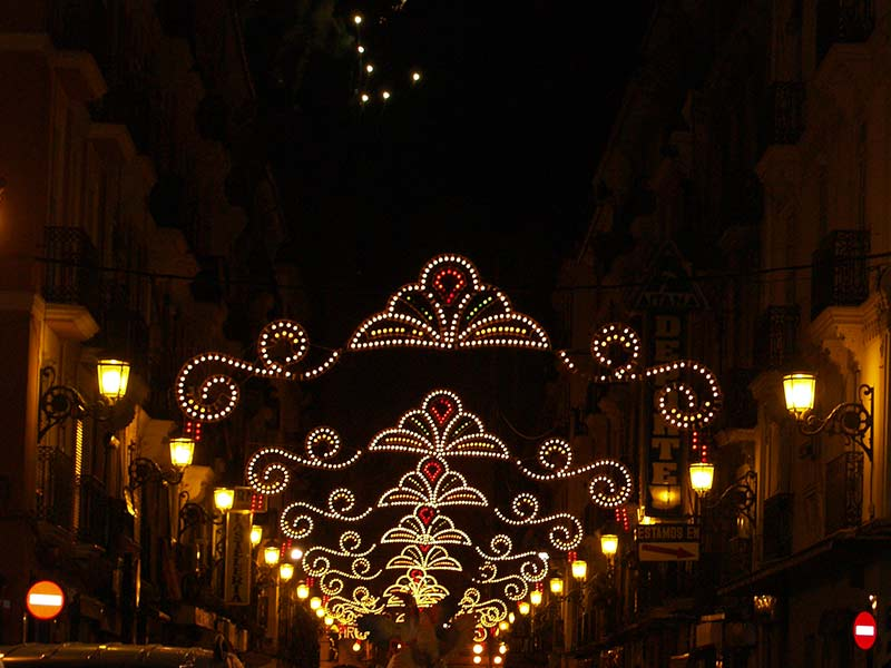 Fallas illumination