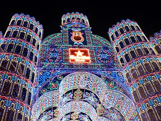 las fallas illuminations